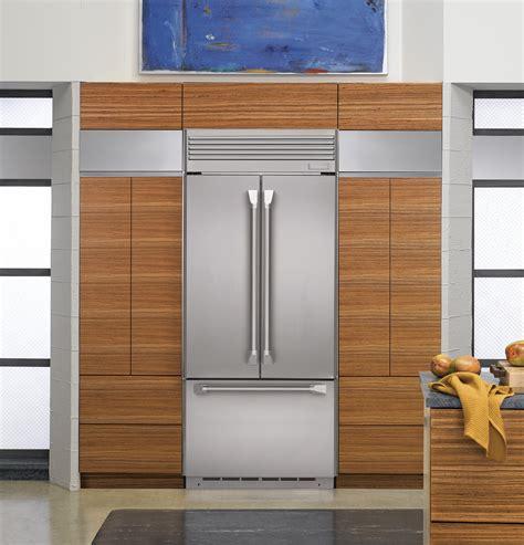 ge monogram  built  french door refrigerator zippnz ge appliances
