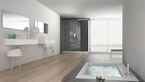 Holz Im Nassbereich : welches material passt in mein bad beton fliesen oder holz ~ Markanthonyermac.com Haus und Dekorationen