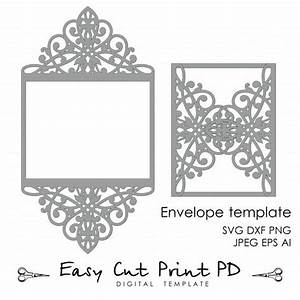 wedding invitation pattern card template lace folds With wedding invitation templates for cricut