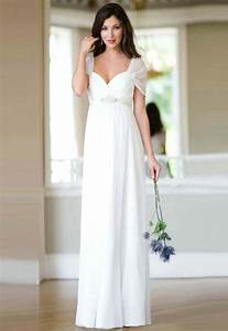 Simple white wedding dress with sleeves sang maestro for White simple wedding dresses