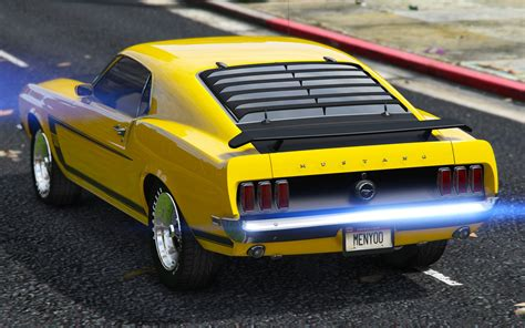 1969 Ford Mustang Boss 302 [replaceaddon] Gta5modscom