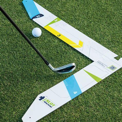 left handed golf swing golf slot machine swing trainer for left handed golfer