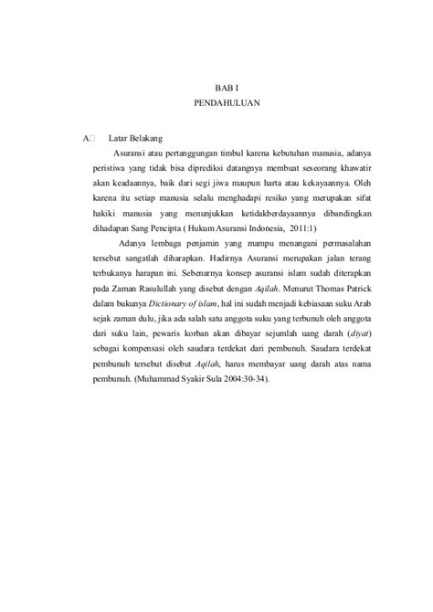 makalah tentang asuransi syariah dengan asuransi konvesional