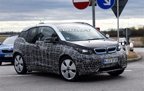 Facelifted 2018 Bmw I3 Spied Trying To Hide Minor Changes