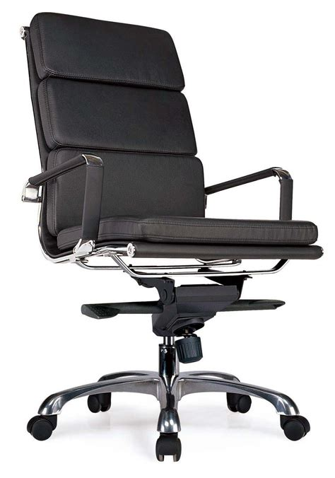 Leather Office Chairs Modern Black Office Chairs