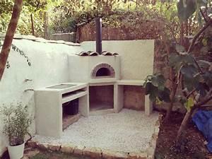 Four Pizza Exterieur : construire un four a bois exterieur ustensiles de cuisine ~ Melissatoandfro.com Idées de Décoration