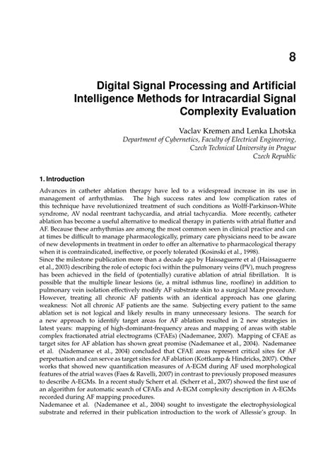 Digital Image Processing In Artificial Intelligence
