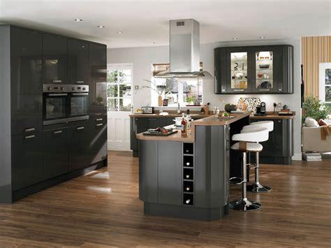 cuisine ouverte grise cuisine grise pas cher sur cuisine lareduc com
