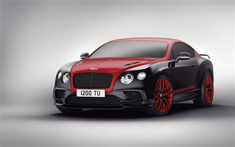 Download Wallpapers Bentley Continental 24, 2017 Cars