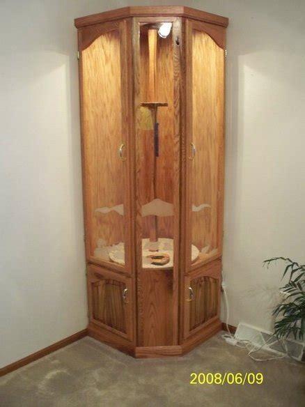 build wood  gun cabinet books diy  cabinet making