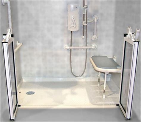 handicap shower stalls