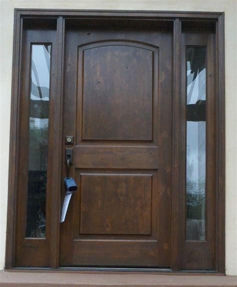 solid wood exterior doors front exterior entry door with sidelights krosswood doors