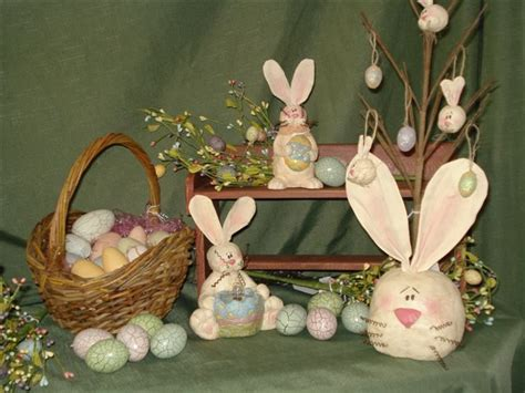 Primitive Easter Home Decor by Primitive Ideas Easter