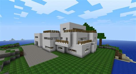my ultra modern minecraft house minecraft project