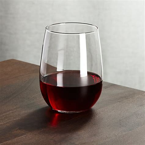 Get the best deals on wine glass red glass. Stemless Red Wine Glass 17 oz | Crate and Barrel