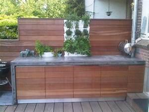 Outdoor Küche Beton : solidus buitenkeuken beton en hardhout pitelli huisje in ~ Michelbontemps.com Haus und Dekorationen