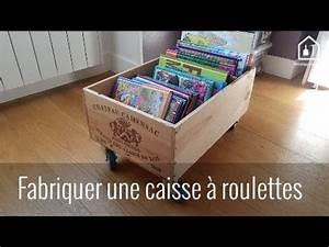 Caisse A Roulette : tutoriel fabriquer une caisse roulettes bricolage facile youtube ~ Teatrodelosmanantiales.com Idées de Décoration