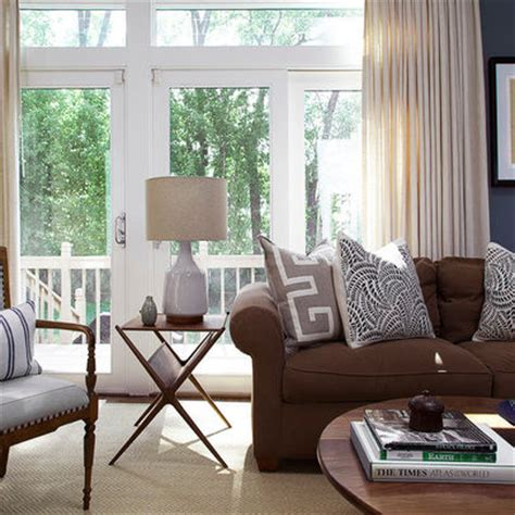 decorating living with and loving a brown sofa images frompo