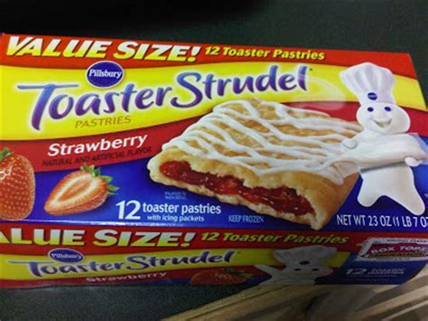 how much are toaster strudels amiable pillsbury toaster strudel