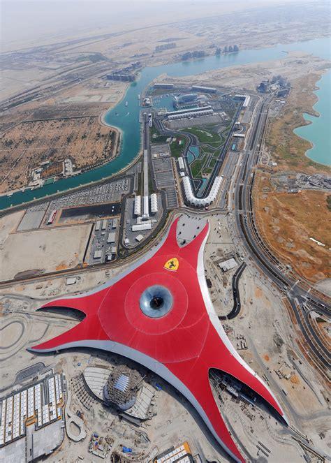 ferrari world ausmotive com 187 ferrari world abu dhabi opening in 2010