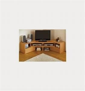 meuble tv avec angle maison et mobilier d39interieur With meuble tv angle