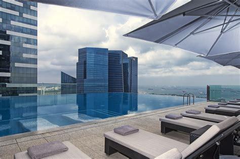 hotel rooftop pools  singapore lifestyle asia singapore