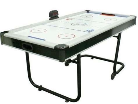 Portable Game Tables Space Saving Air Hockey