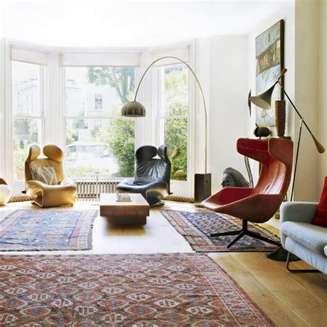 modern retro living room contemporary living rooms