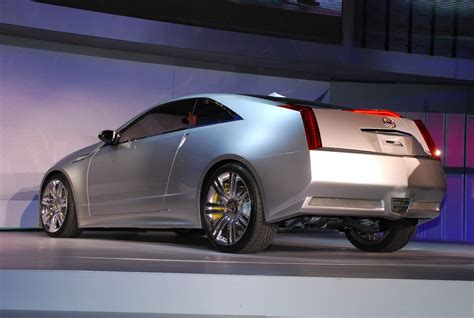Cadillac Cts Coupe Concept by Detroit 2008 Cadillac Cts Coupe Concept Live Reveal
