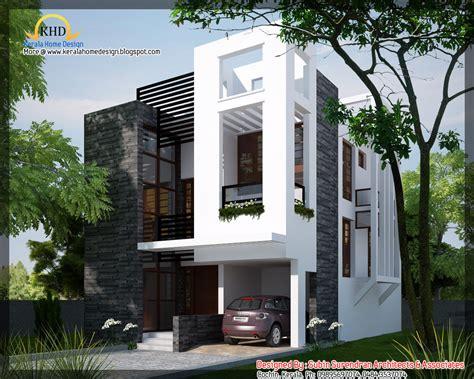 contemporary home designs modern contemporary home 1450 sq ft kerala home