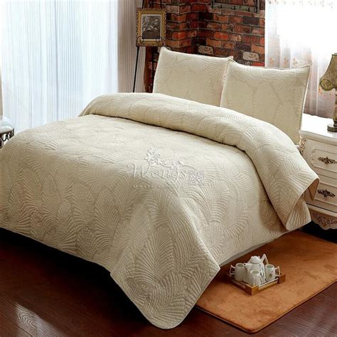 set bed cover new manual quilting 100 cotton bedding set bed cover air