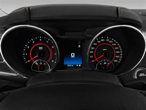 image  chevrolet ss  door sedan instrument cluster