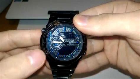 Обзор и настройка часов Casio Edifice Efa131bk1avef