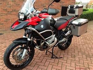 July 2009  09  Bmw R 1200 Gs Adventure Magna Red Excellent Example