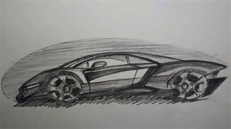 How To Draw And Shade Super Cars (beginner's)