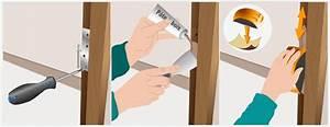 retirer les gonds d39une porte porte With changer un bati de porte