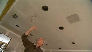 Installing recessed lighting in a kitchen : How install recessed lighting existing ceiling