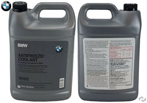 For Bmw Engine Coolant/antifreeze 2 Gallons Blue Color
