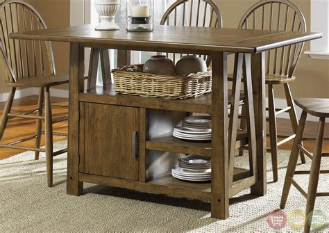 narrow counter height table bassett dining room furniture narrow counter height table