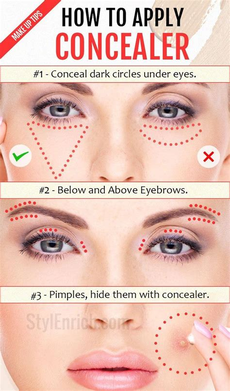 25 Best Ideas About How To Apply Concealer On Pinterest