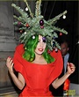Lady Gaga Dresses as Christmas Tree After Jingle Bell Ball ...