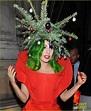 Lady Gaga Dresses as Christmas Tree After Jingle Bell Ball ...