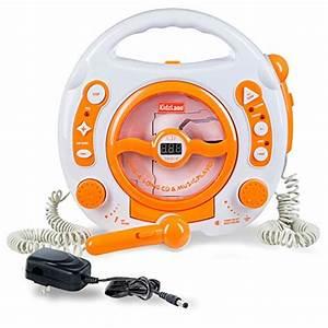Mp3 Player Für Kids : kids portable sing along cd mp3 usb player with 2 microphones anti skip protection orange ~ Sanjose-hotels-ca.com Haus und Dekorationen