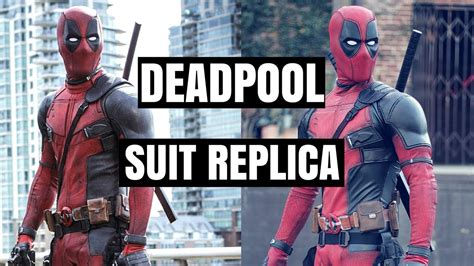 Deadpool Replica Suit Youtube