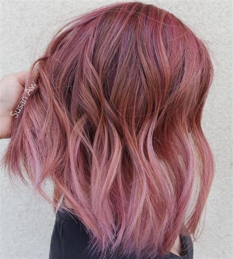 light pink highlights 40 pink hair ideas unboring pink hairstyles to try in 2018
