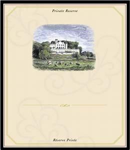 chateau blank pop inkjet label stoney creek wine press With blank wine label stickers