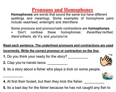 230 Free Pronunciation Worksheets