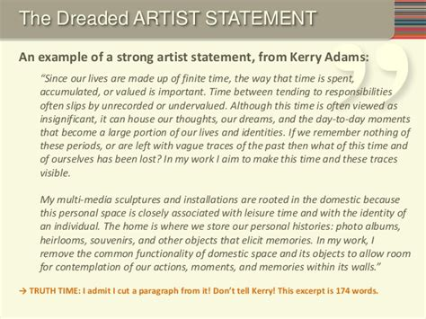 Writing An Artist S Resume by Writing A Great Grant 2014 Individual Artists