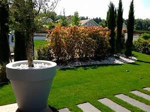 amenagement paysager d39un jardin With photos amenagement jardin paysager