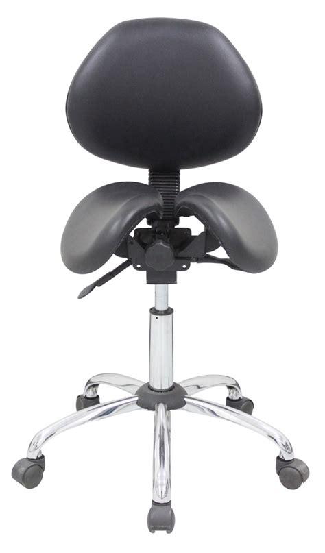 kanewell 901sbl ergonomic saddle seat with backrest